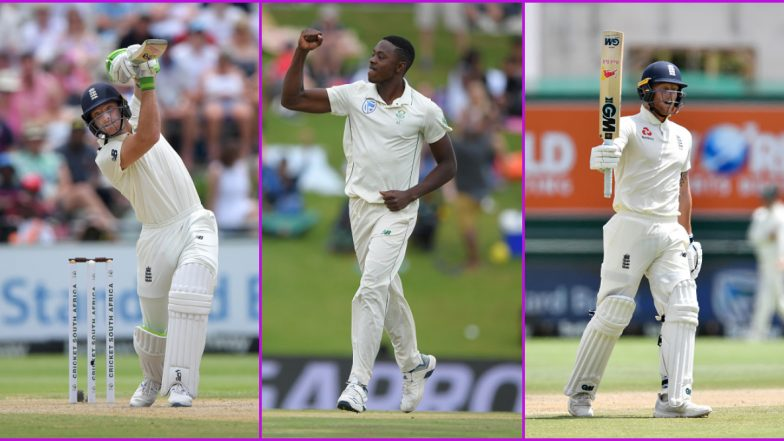South Africa vs England, 3rd Test 2019-20, Key Players: Jos Buttler, Kagiso Rabada, Ben Stokes and Other Cricketers to Watch Out for in Port Elizabeth