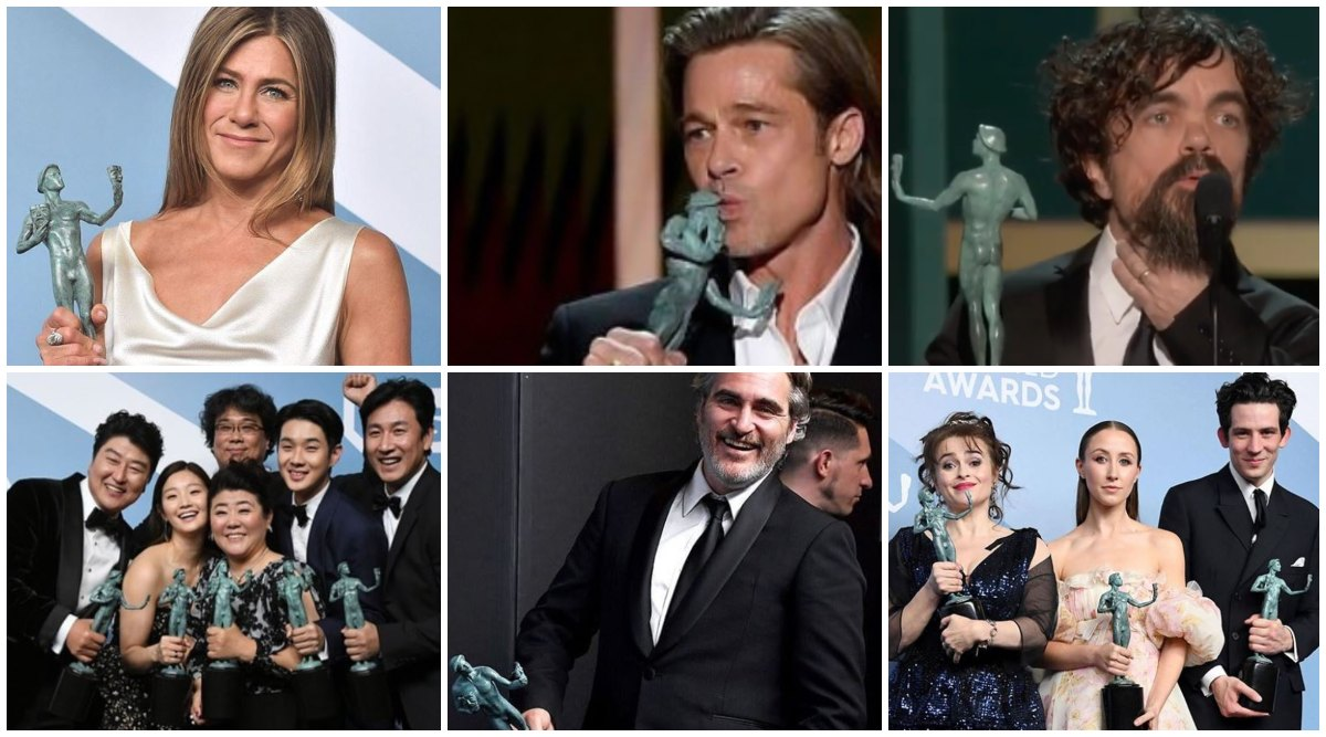 SAG Awards 2020: Jennifer Aniston, Brad Pitt, Peter Dinklage, Joaquin Phoenix, The Crown, Parasite Win Big, Check Out The Complete Winners List Below