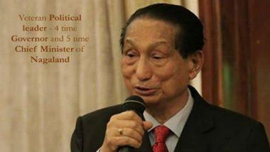 Padma Awards 2020: Former Nagaland CM Dr SC Jamir Gets Padma Bhushan