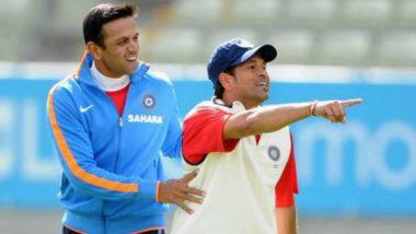 Sachin Tendulkar Wishes Rahul Dravid on His 47th Birthday Says 'You Created Huge Jams for Bowlers'