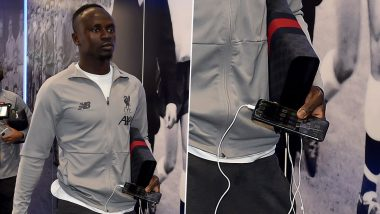 Photo of Sadio Mane Carrying Broken iPhone Screen Guard Goes Viral, but It's Liverpool Footballer's Modest Reason for Not Repairing Will Leave You Amazed!
