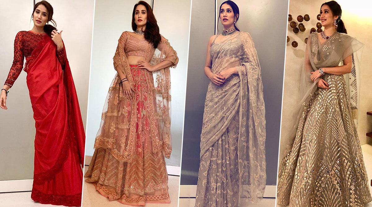 Sagarika Ghatge Birthday Special: 7 Stylish Pics of the Chak De! India Babe Which Prove Her Love for All Things Desi!