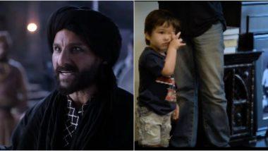 Saif Ali Khan Reveals Taimur Ali Khan Calls Him 'Sardarji' After Seeing His Tanhaji Look (Watch Video)