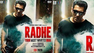 Radhe: Yash Raj Films Confirm 2020 Eid Release Date of Salman Khan's Cop Film