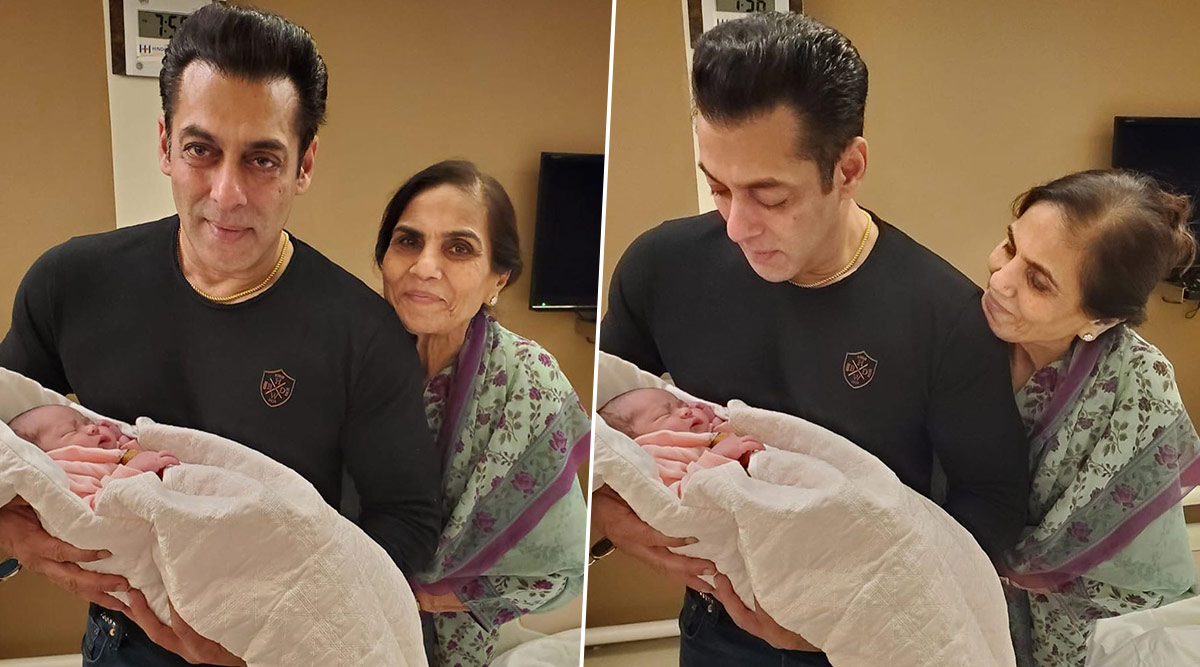 Salman Khan's Latest Pictures With Baby Ayat are Too Cute To Miss!