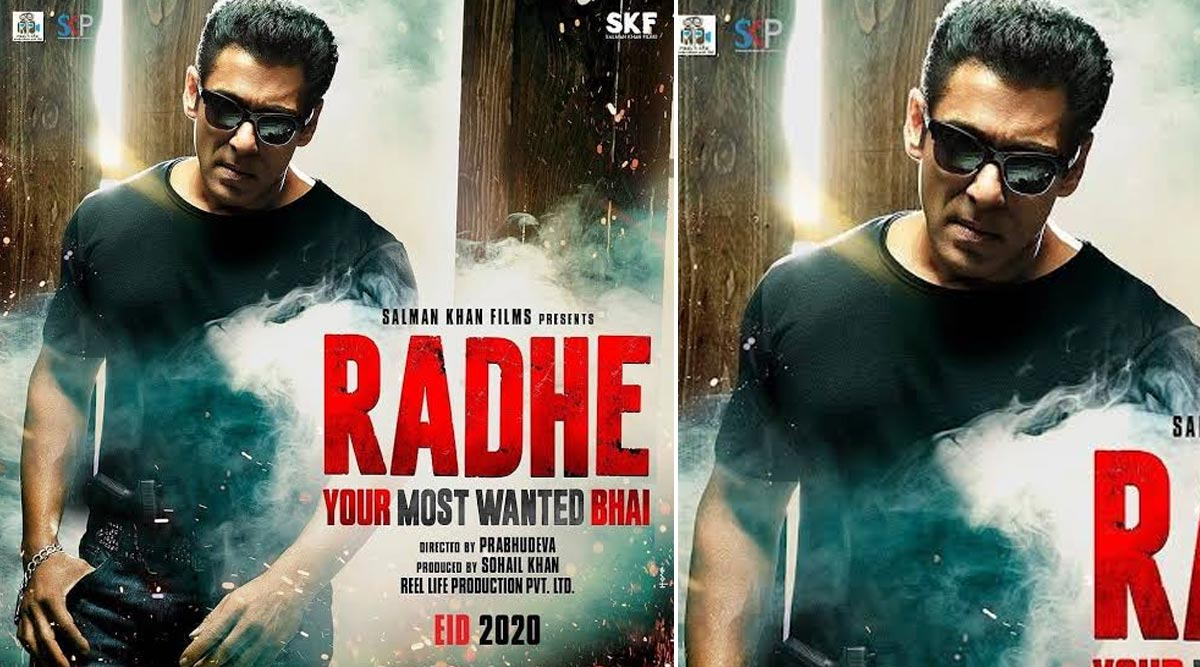 Salman Khan's Radhe to Hit the Screens on Eid 2020, Actor Starts Working on Post-Production Amid Coronavirus Outbreak