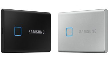 Samsung Portable SSD T7 With Fingerprint Scanner Unveiled At CES 2020