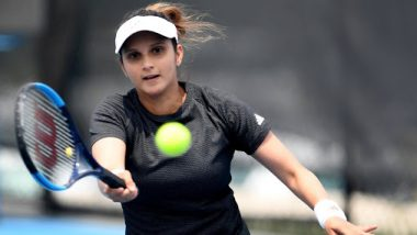 Sania Mirza Out of Australian Open 2020, Forced to Retire from Women's Doubles First Round Match Due to Calf-Strain