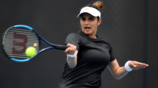 Sania Mirza, Caroline Garcia Loses in Women's Doubles 2nd Round in Dubai Open 2020