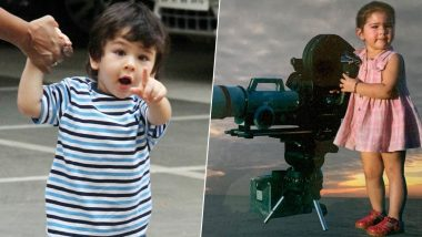 Sara Ali Khan Posts a Super-Adorable Throwback Picture, Fans End Up Comparing Her With Taimur!