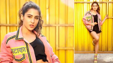 Sara Ali Khan, the Pretty Hot Patakha in Pink for Love Aaj Kal!