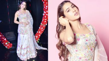 Sara Ali Khan Brings Out Springtime Sublime Style in a Tamanna Punjabi Ethnic Suit!
