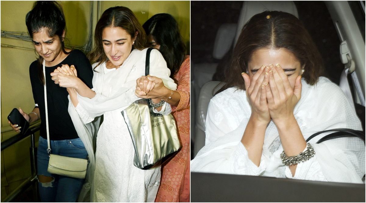 Sara Ali Khan Left Startled as She Gets Mobbed by Fans and Paparazzi at Tanhaji: The Unsung Warrior Screening (Watch Video)