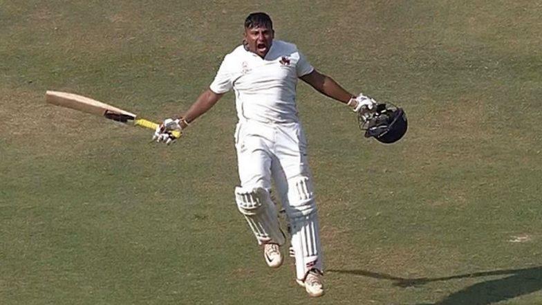 Sarfaraz Khan Slams Maiden Triple Century in First-Class Cricket During UP vs Mumbai Match, Becomes 7th Mumbai Cricketer to Score 300 in Ranji Trophy