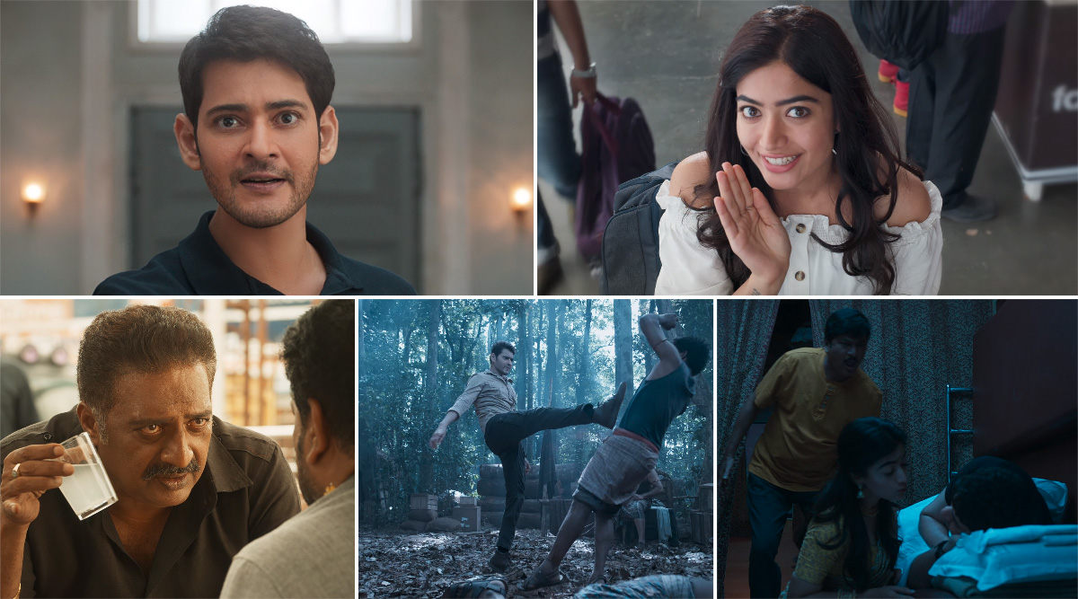 Sarileru Neekevvaru Trailer: Mahesh Babu and Rashmika Mandanna Starrer is the Perfect Mix of Action, Comedy and Romance (Watch Video)
