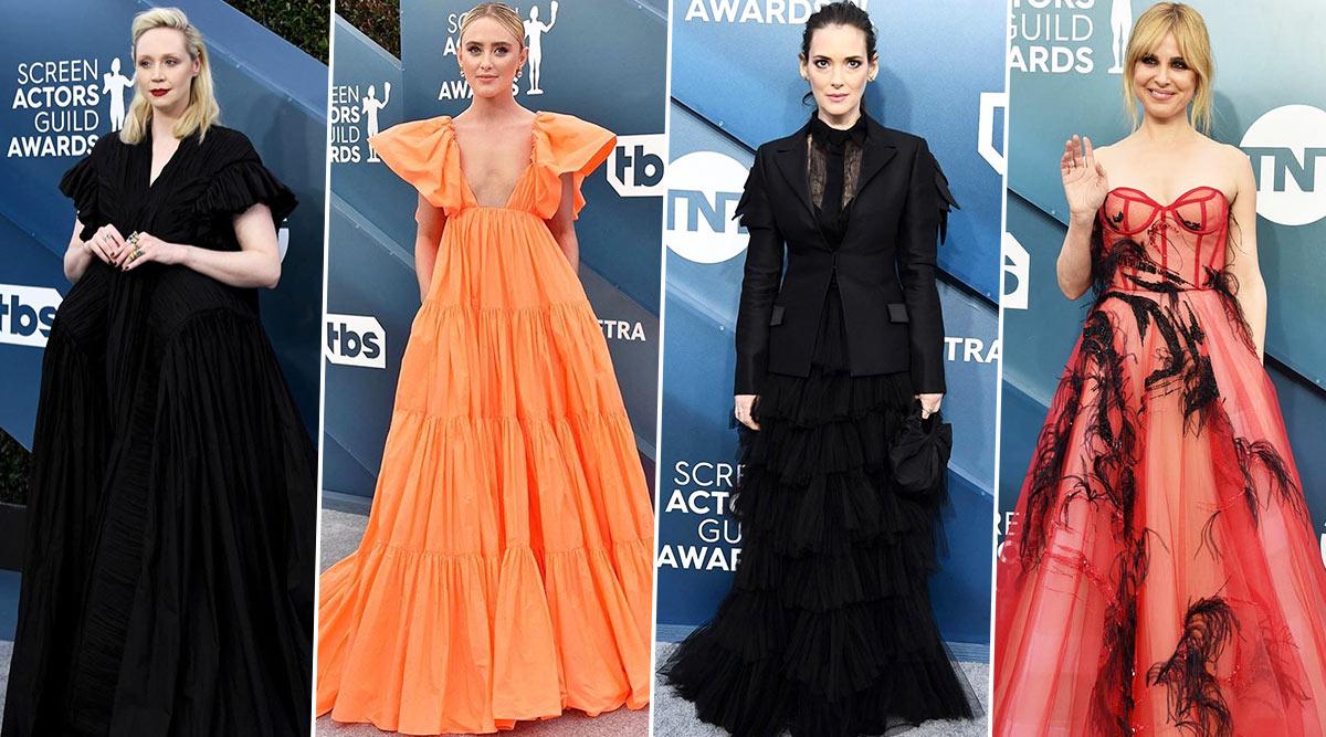 SAG Awards 2020 Worst Dressed: Gwendoline Christie, Winona Ryder, Kathryn Newton Disappoint With Their Fashion Picks