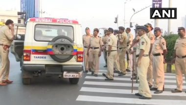 Maharashtra Bandh: Security Tightened in Mumbai In Light of Shutdown Called by Prakash Ambedkar's VBA Against CAA, NRC and Economic Crisis Today