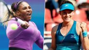 Serena Williams vs Tamara Zidansek, Australian Open 2020 Live Streaming Online: How to Watch Live Telecast of Aus Open Women's Singles Second Round Tennis Match?