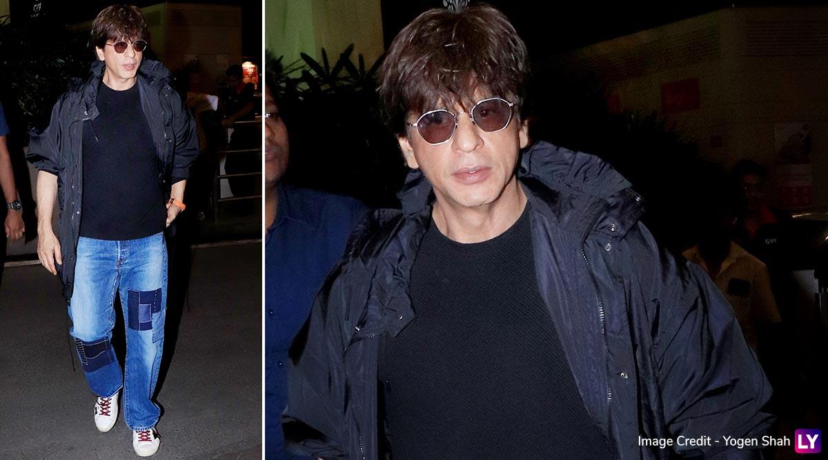 Shah Rukh Khan's Super-Stylish Airport Pictures Will Make Your Heart Sing 'Badshah O Badshah!'