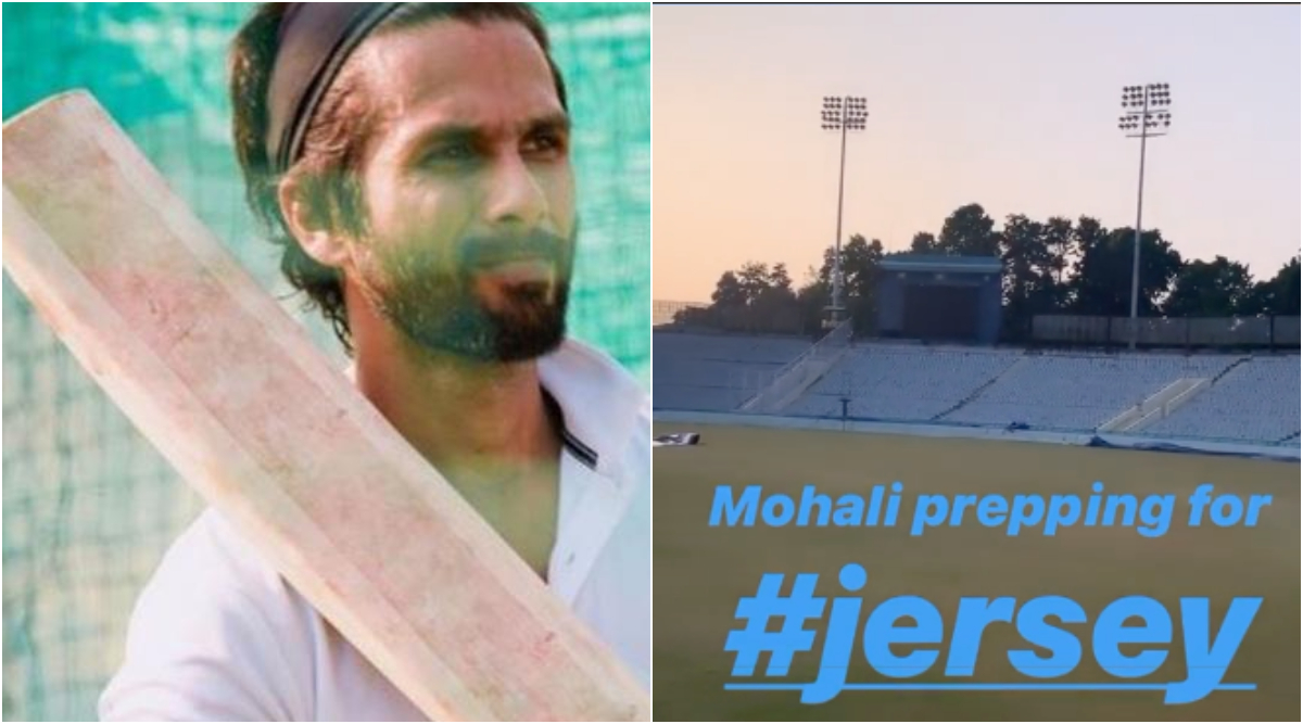 Shahid Kapoor Begins Shooting for Jersey at Mohali, Shares a Glimpse from the Sets on His Instagram Story (See Pic)
