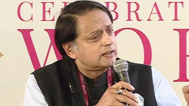 Mohammed Ali Jinnah's Victory if CAA Leads to NPR and NRC: Congress Leader Shashi Tharoor