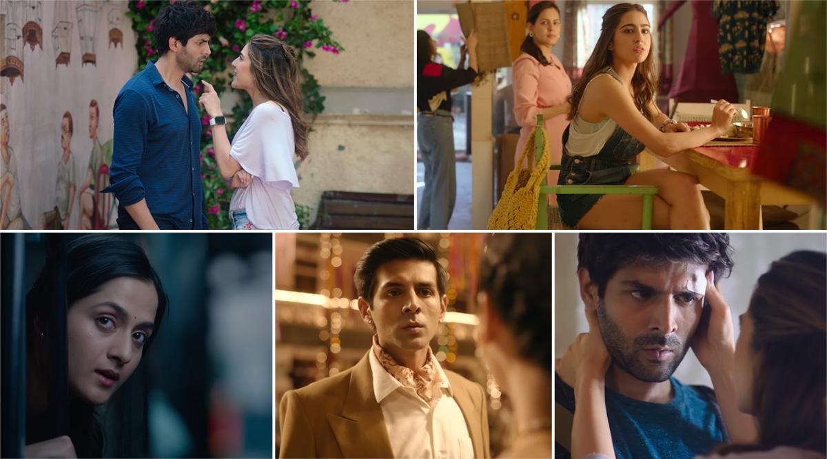 Love Aaj Kal Song Shayad: Sara Ali Khan-Kartik Aaryan's Mushy Track by Arijit Singh Will Give You 'Hawayein' Feels (Watch Video)