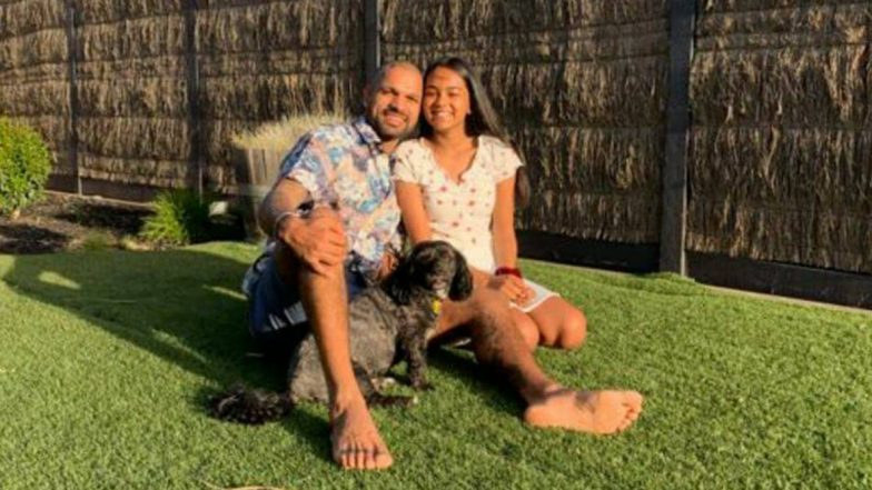Shikhar Dhawan Wishes 'Happy Birthday' to Daughter Rhea With A Heart-Warming Message (See Post)