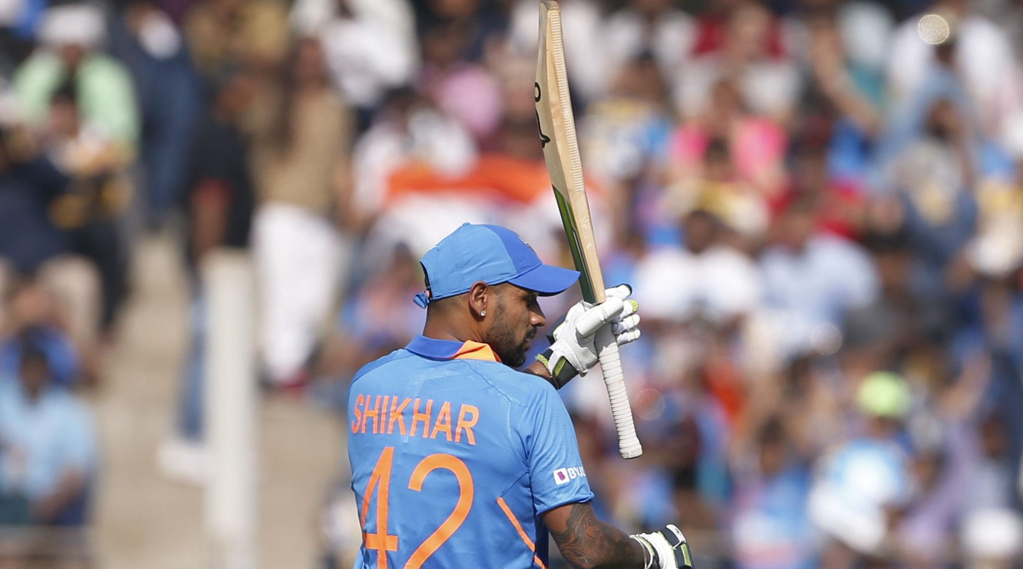 IND vs AUS 1st ODI 2020: India Fold for 255 Despite Shikhar Dhawan's 74 at Wankhede Stadium