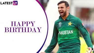 Shoaib Malik Birthday Special: A Look at Some Top Performances by Pakistan All-Rounder