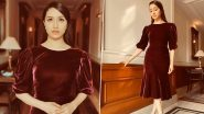 Shraddha Kapoor Looks Like a Velveteen Dream in Burgundy Dress for Street Dancer 3D Promotions!