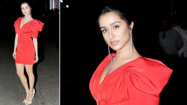 Shraddha Kapoor Gives You a Splendid Party Vibe to Steal With a Little Red Dress!