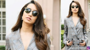 Shraddha Kapoor and Her Languid Pantsuit Is All Kinds of Chic!