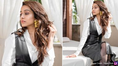 For Shraddha Kapoor, It's Monochrome Slay, Look Chic, Repeat for Street Dancer 3D Promotions!