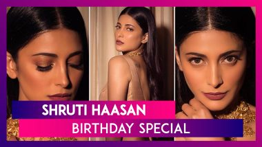 Shruti Haasan Birthday Special: A Style Capsule Of Grunge Girl Turning Into A Glam Goddess!
