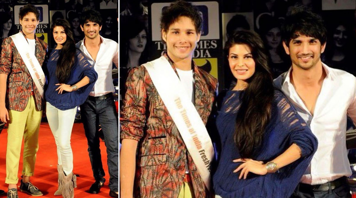 Siddhant Chaturvedi Fans Melt over Cute Throwback Photo of Gully Boy Star That Also Features Jacqueline Fernandez-Sushant Singh Rajput