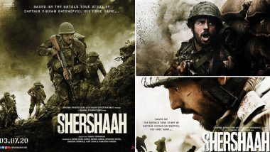 Shershaah Posters: On Sidharth Malhotra's Birthday, Makers Release Impressive Pictures of the Actor as Captain Vikram Batra