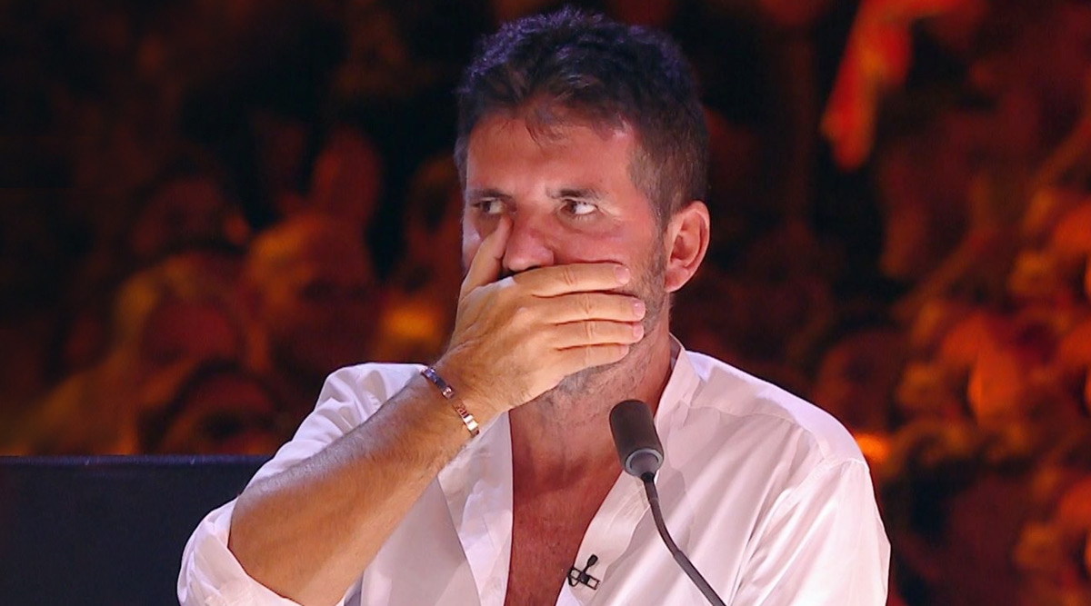 Man Uses Penis to Paint Simon Cowell Portrait, Leaves Britain's Got Talent Judge Flabbergasted During  Auditions