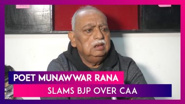 Anti-CAA Protest In Lucknow: Munawwar Rana's Daughters Charged With Rioting, Poet Slams BJP