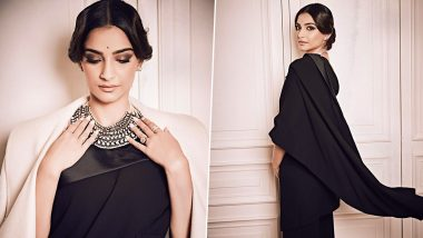 Sonam Kapoor Ahuja, the Bewitching Muse in Jean Paul Gaultier's Revolutionary Sari Tuxedo!