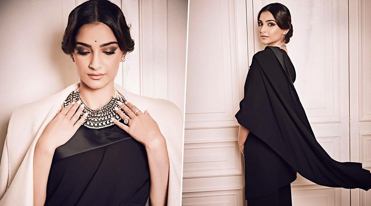 Sonam Kapoor Ahuja, the Bewitching Muse in Jean Paul Gaultier's Revolutionary Sari Tuxedo!
