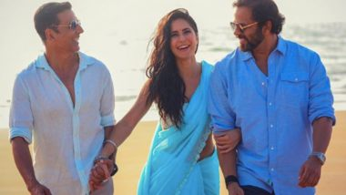 Sooryavanshi: Katrina Kaif Shares a Picture With Akshay Kumar and Director Rohit Shetty, Says 'Everyday On Set Has Been Full Of So Much Love and Joy'