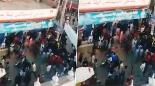 Stone Pelting at Gurdwara Nankana Sahib in Pakistan, Mob Threatens to Destroy it; Watch Video