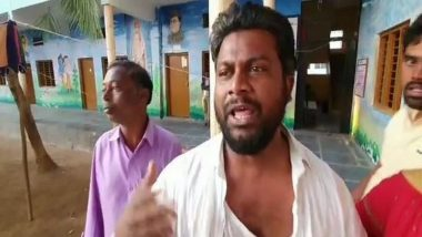 Telangana Municipal Elections 2020: AIMIM Leader Sudarsan Arrested After Clash With Congress Workers at Gadwal Polling Station