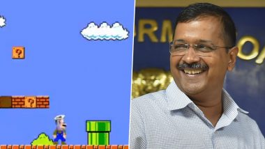 Delhi Assembly Elections 2020: AAP Uses Super Mario to Promote 'Super Kejriwal' in New Social Media Campaign Video, Twitterati Lauds