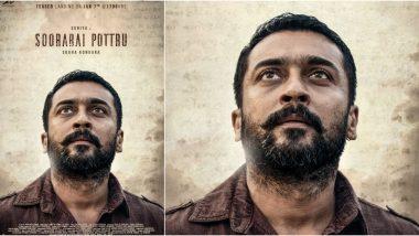 Soorarai Pottru: Ahead of Teaser Release on January 7, Makers Release a New Poster Featuring Suriya