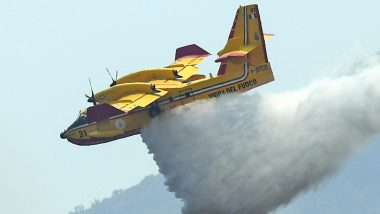 Australia Bushfires: Large Water-Bombing Plane Crashes While Fighting Fires in Sydney, All 3 US Crew on Board Dead