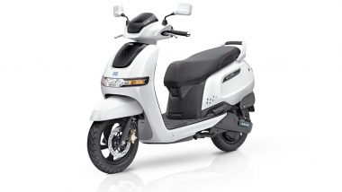 TVS iQube Electric Scooter Launched in India; Check Prices, Features, Booking Details & Specifications