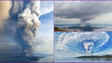 Taal Volcano Erupts in Philippines, Terrifying Pics and Videos of Smoke and Ash Clouds Go Viral