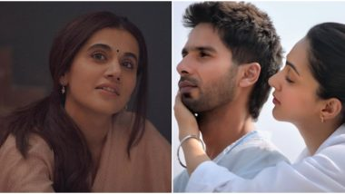 Thappad Trailer: Twitterati Hail Taapsee Pannu and Troll Shahid Kapoor-Kiara Advani's Kabir Singh At The Same Time!