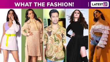 What the Fashion! Janhvi Kapoor, Sara Ali Khan, Shraddha Kapoor, Kangana Ranaut and Vicky Kaushal Spend Fabulously!